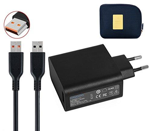 Yoga Ladegerät Netzteil Adapter 40W 20V 2A oder 5.2V 2A für Lenovo Yoga 3 Pro Convertible Ultrabook Tablet mit 6.7Ft Netzkabel inkl. eine Tragetasche