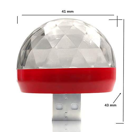 Duoying Mini Luces Escenario Luces ambientales Auto