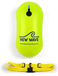 New Wave Swim Bubble for Open Water Swimmers and Triathletes (Green)