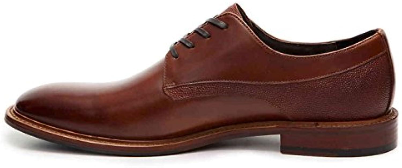 Aston Grey Hombres adayde Leder Oxfords