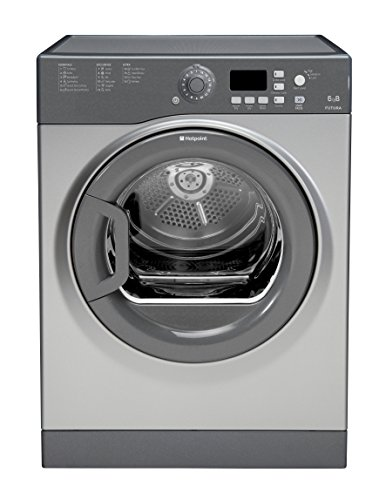 Hotpoint Aquarius FTVFG 65B GG Tumble Dryer - Graphite
