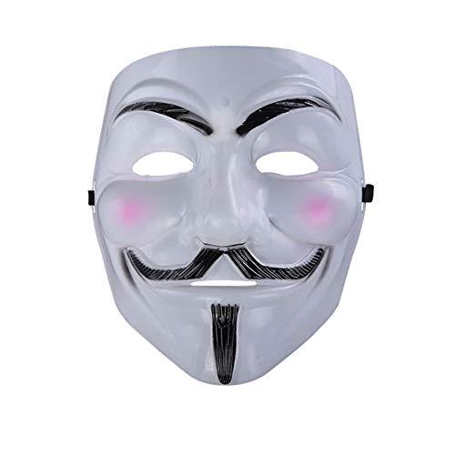 Halloween Guy Fawkes V FÜR Vendetta Anonymous Maske Resin Adult Harz (S)