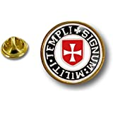 Spilla Pin pin's Spille spilletta Giacca Bandiera Badge templare Templari r4
