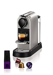 NESPRESSO KRUPS Citiz XN741B40 Pod Coffee Machine-Silver