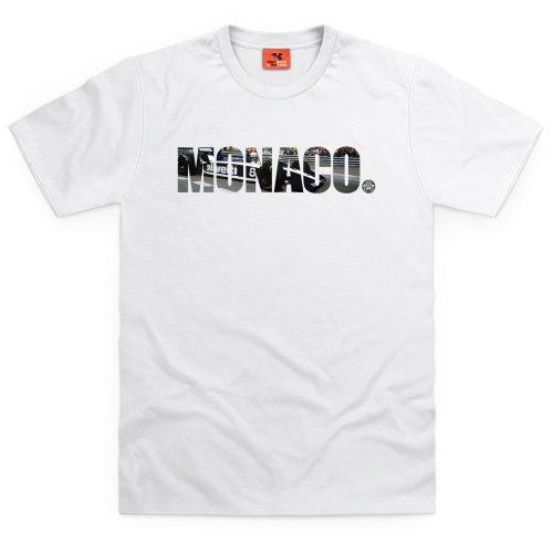 PistonHeads Monaco T-Shirt, Herren Wei