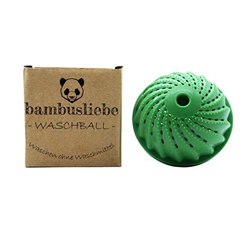 ✮ bambusliebe ✮ Eco Waschball ♻ Waschen ohne Waschmittel ♻ Nachhaltig ✅ umweltschonend ✅ antibakteriell ✅