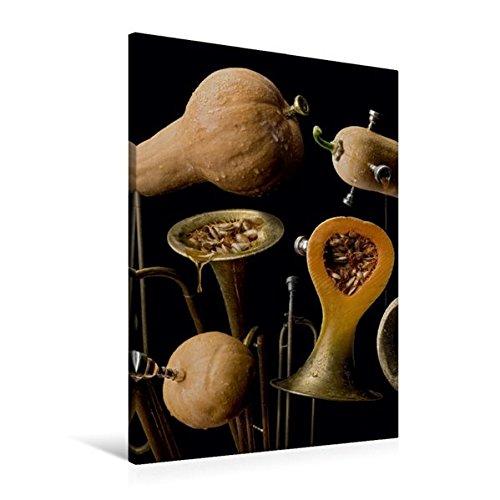 Premium Textil-Leinwand 60 cm x 90 cm hoch, butternut trumpet | Wandbild, Bild auf Keilrahmen, Fertigbild auf echter Leinwand, Leinwanddruck (CALVENDO Lifestyle) (Wein Butternut)
