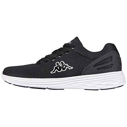 Kappa Trust Footwear Unisex, Sneaker Basse Unisex – Adulto Nero (1110 black/white)