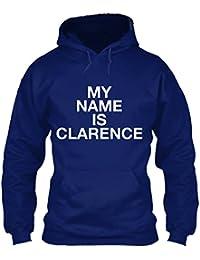 teespring Men's Novelty Slogan Hoodie - Clarence My Name is.