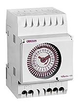 GRÄSSLIN talento 121 - 01.28.0003.1 - horloge modulaire analogique - programme horaire (MARCHE/ARRÊT) - période minimale de commutation 1,25 minutes - montage rail DIN