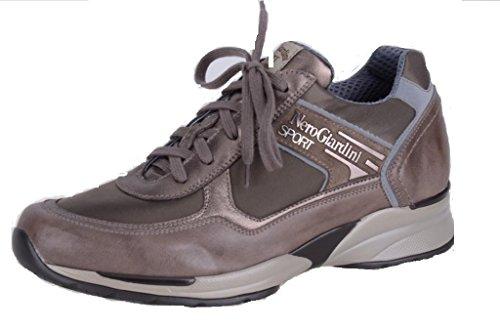 Nero Giardini Sport Sneaker Donna in Pelle e Tessuto Autunno/Inverno A207850D Verdegris