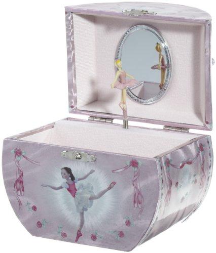 Spieluhrenwelt Kinder-Schmuckdose Taschenform Spielt die Melodie Ballerina 28021