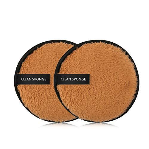 OYOTRIC Makeup Tool Doppelseitiger Puff cosmétique Lavable démaquillant Puff éponge Puff Puff - Au Die Blanc