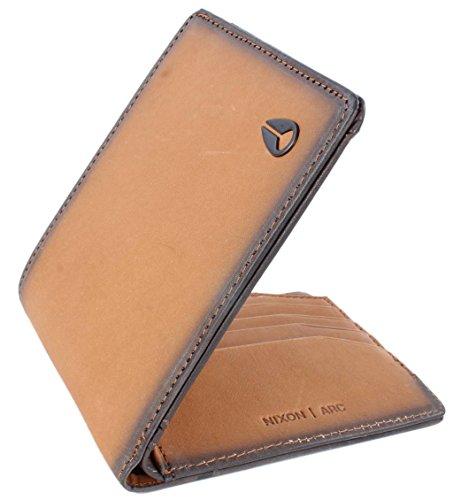Nixon Arc Bi-Fold Wallet Münzbörse, Tan -
