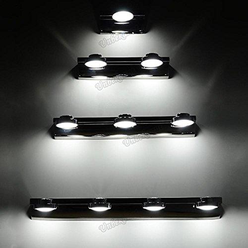 Jave 3W/6W/9W/ LED Bad-und Spiegelleuchte für das Badezimmer / wandleuchte Licht im Bad Badlampe keine Schalter , weiß , 58cm