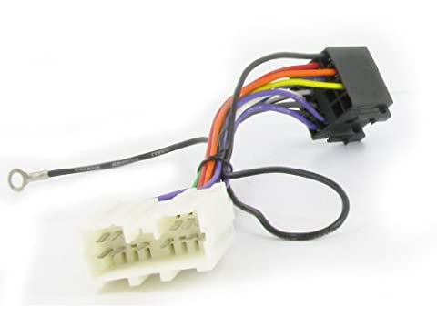 XtremeAuto® ISO Stereo Wiring adapter harness for MITSUBISHI. For use with aftermarket stereos.
