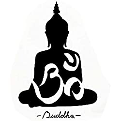 WINOMO Buda Pegatina de Pared Calcomanías de Arte Decoración 40 * 60cm