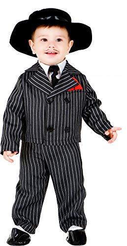 chiber Kostüme Kostüm Bebe Gangster Talla 1 (6-12 Meses)