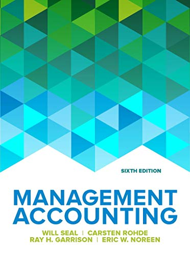 Management Accounting por Eric Noreen