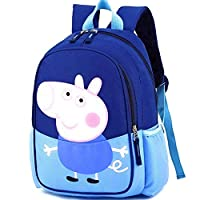 Peppa Pig Backpack George Cartoon Painting Upgrade for Kids Children