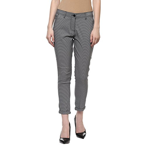 Honey by Pantaloons Women's Relaxed Fit Sports Trousers (880001351_Black_30)