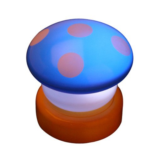 Seta lámpara táctil LED Light Night niños luz de repetición luniere Chubby, Mushroom Style Mushroom Light is ideal for Homes, creating brochas, romantic Home and comfortable atmosphere. Lamp has super bright LED or at night in the Dark unidades Color...