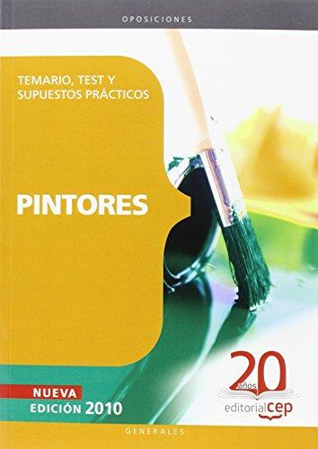 Pintores. Temario, Test y Supuestos Prácticos (Colección 103) por Sin datos
