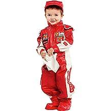 COSTUME di CARNEVALE da PICCOLO PILOTA DI F1 vestito per neonato bambino  0-3 Anni fcdb3e27057