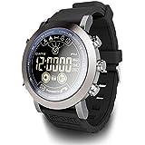 Montre Intelligente, Inciple Montre Connectée LF23 Hommes Smart Sport Montre IP68 Professionnel Étanche 610Mah Batterie 33 Mois de Temps Veille Vintage Smartwatch