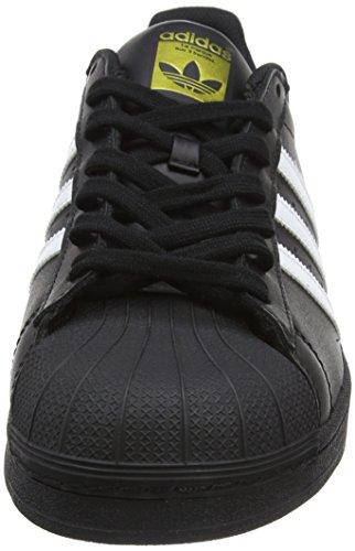 adidas Originals Unisex-Erwachsene Superstar Low-Top Schwarz (Core Black/ftwr White/core Black)