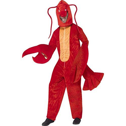 smiffys-herren-hummer-kostum-bodysuit-mit-kopfteil-one-size-40091