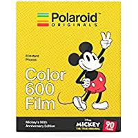 Polaroid Originals 4860 Mickey's 90th Anniversary Edition Pellicola Istantanea, 600 Colori, 600 Colori