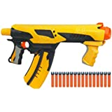 Nerf 94523 Nerf Dart Tag Quick 16 - Rapid-fire Gun with 16 Cartridge Magazine