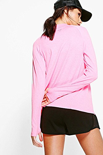 Rose Femmes Holly Fit Veste De Course Sans Coutures Rose