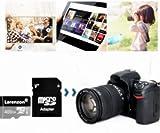 Larenzon Carte Micro SD 400 go, Carte Mémoire SD 400 Go Classe 10 + Adaptateur SD (Y150-SH) (400Go)