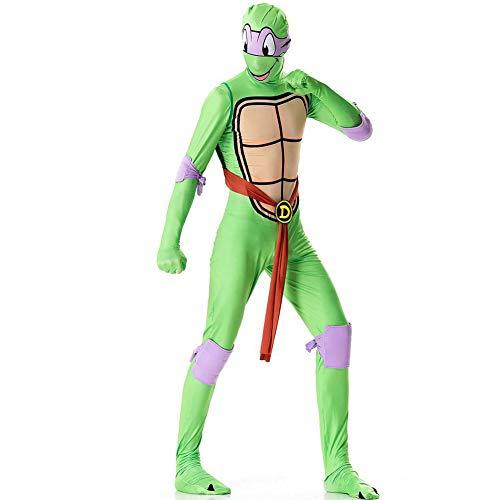 Fanstyle Teenage Mutant Ninja Schildkröte Onesies Cosplay Kostüm Film Leistung Overall