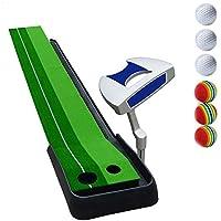 CN Colchonetas Golf Golf Oficina de Putter Práctica para Niños Fairway Niños Practicando Manta con Juego de Putter, 8 Mm de Espesor,UNA,Un tamaño