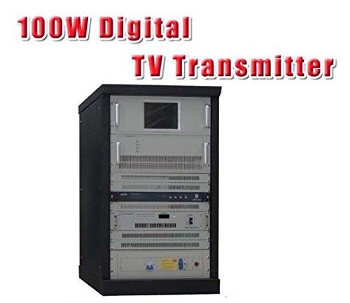 Preisvergleich Produktbild GOWE 100W VHF/UHF territorialen Broadcast-Transmitter, Digital-TV (DVB-T/T2/ATSC, ISDB-T)