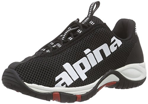 Alpina 680267, Unisex-Erwachsene Trekking- & Wanderschuhe, Schwarz (1)