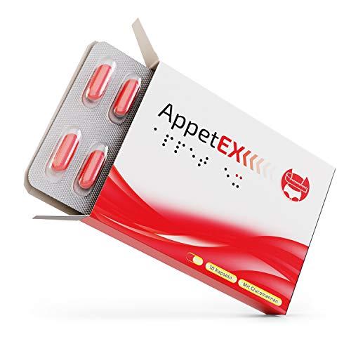 AppetEx | Abnehmen mit Glucomannan aus der Konjak Wurzel | Hochdosiert | Made in Germany