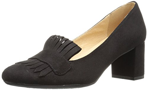 Chinese Laundry Open Toe Pumps (CL by Chinese Laundry Damen Anete, Black Super Suede, 38 EU)