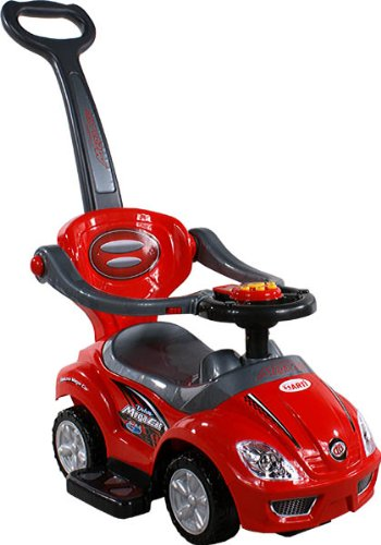 Baby Car ARTI 382 Mega Car Deluxe Red - Coche para bebe - Coches para ninos - Ride-on