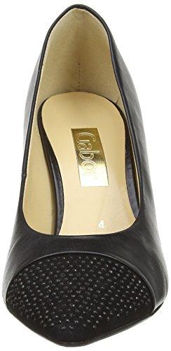 Gabor Brax, Escarpins femme Noir (Black Leather/Suede)