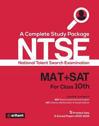 A Complete Study Guide NTSE (MAT + SAT) for Class 10th