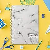 Agenda 2020 - Agenda Planner Settimanale Con Panoramica Mensile - 21 x 13,5 cm Diario Inglese da Gennaio 2020 a Dicembre 2020 con Pagine Note per Giornaliera Lavoro, Casa e Scuola