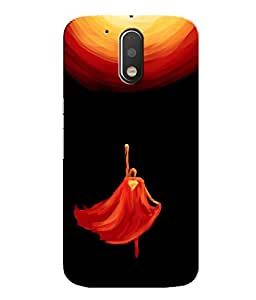 Citydreamz Superman Hard Polycarbonate Designer Back Case Cover For Motorola Moto G4 (4th Gen.)