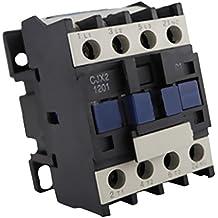 MagiDeal Herramientas Cjx2-1201 380v Ac Bobina Trifásica 1no 50 / 60hz Motor Arrancador Relé Contactor - 380V