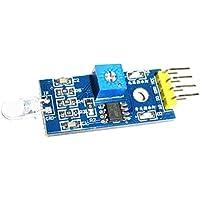 Sharplace Sensor de Diodo Fotosensible Detección de Intensidad de Luz de Módulo para Arduino Herramientas