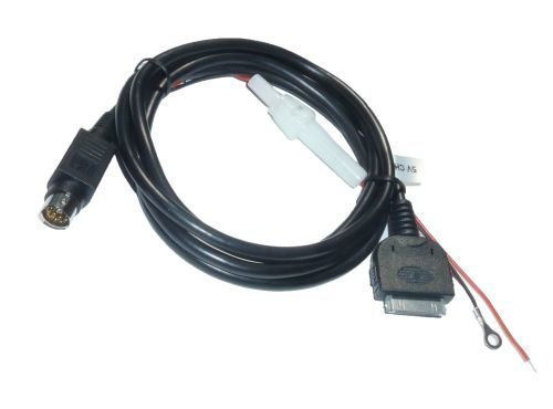 Adapter-Universe 5041 iPhone iPod Navi MFD RNS AUX Adapter Kabel mit 5V Ladefunktion