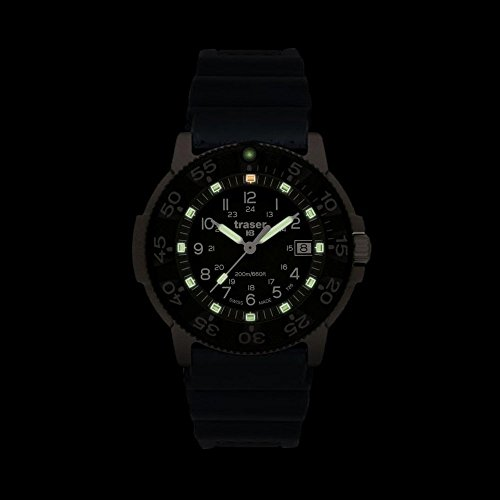 Other Watches - Traser H3 Commander Force Titanium Watch with Rubber ... 13849108ae9
